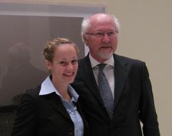 Dr. Louisa Specht und Prof. Dr. Alfred Büllesbach